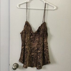 Wilfred ruffle camisole